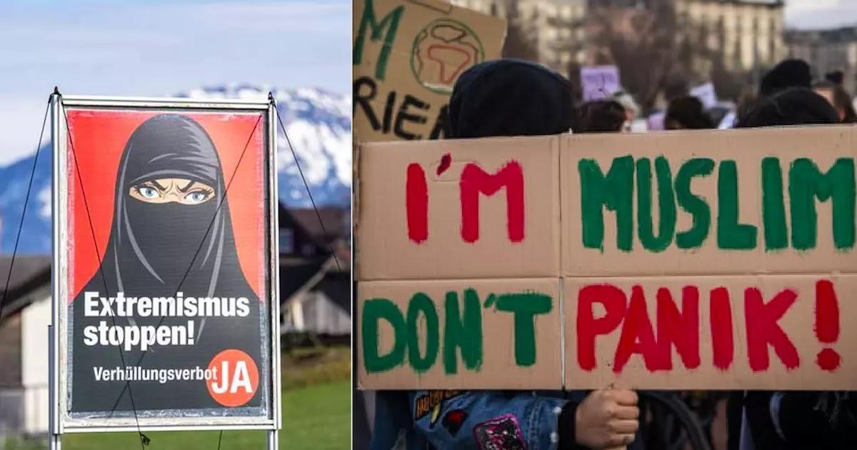 Switzerland Votes To Ban Women From Wearing Burqas In Public