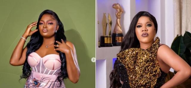 Amid their 'beef', can actress, Toyin Abraham beat actress, Funke Akindele's Omo Ghetto: The Saga record?