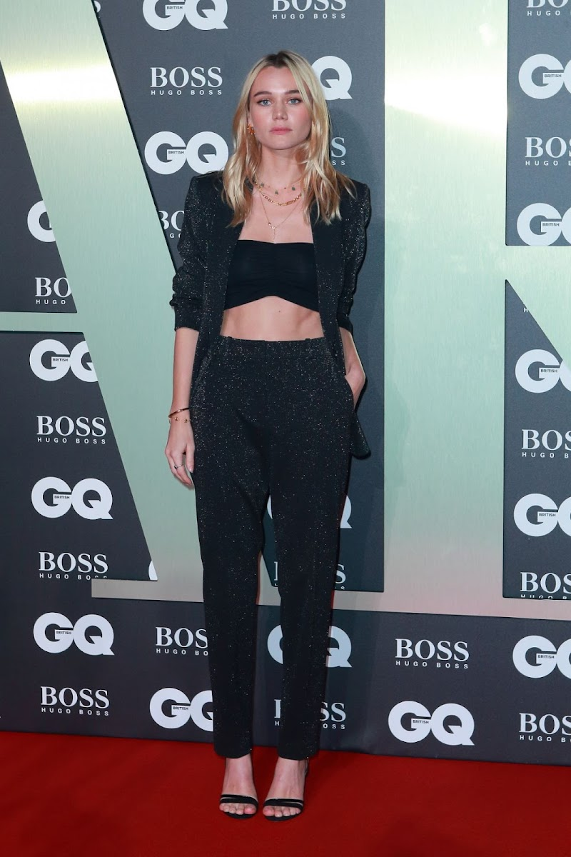 Immy Waterhouse at GQ Men of the Year 2019 Awards in London 3 Sep -2019