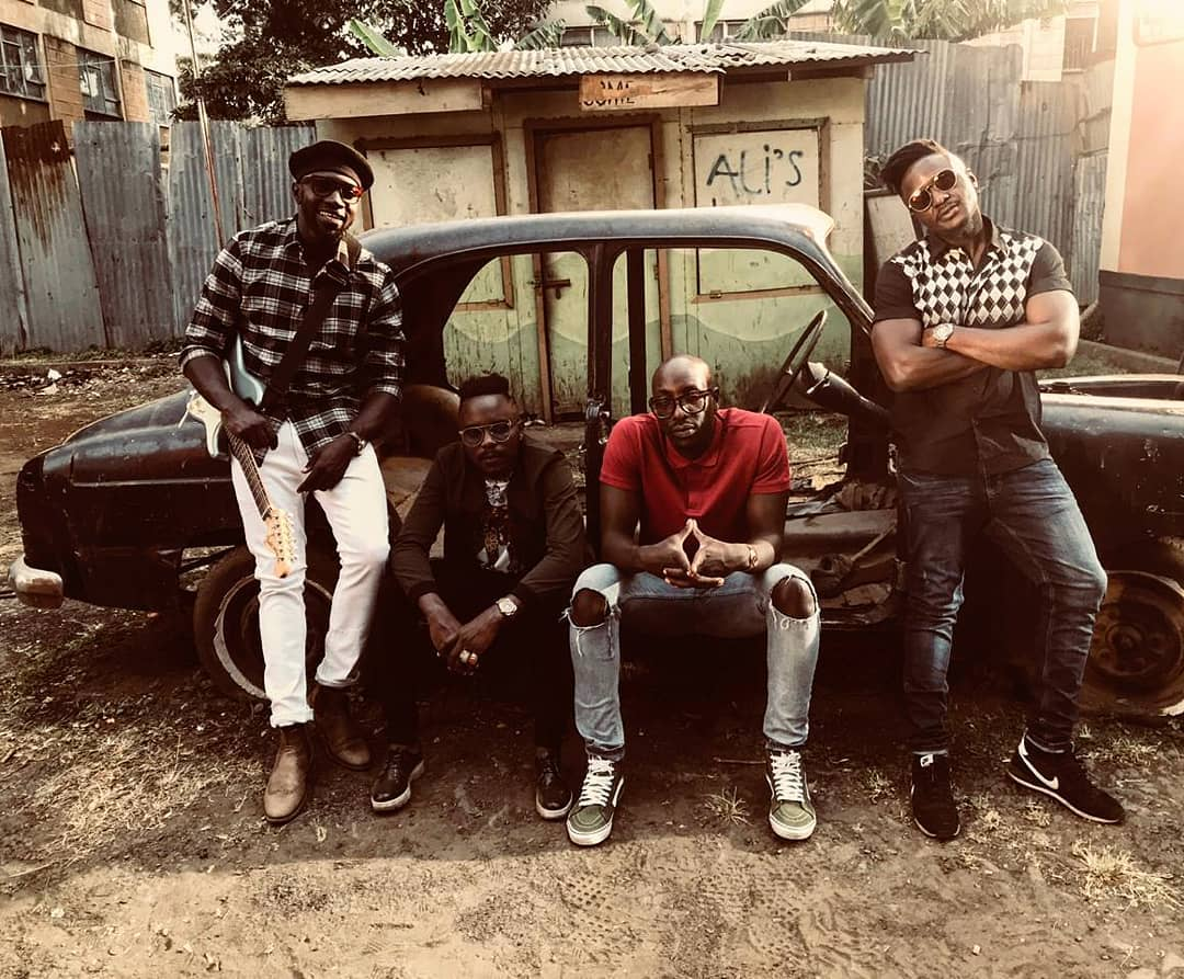 Sauti Sol Accussed Of Exploiting Upcoming Models
