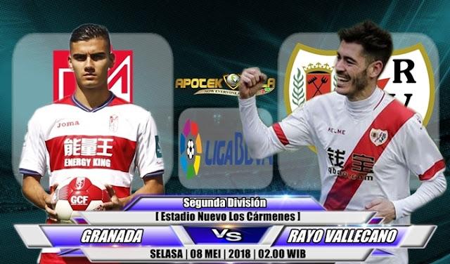 Prediksi Granada vs Rayo Vallecano 8 Mei 2018