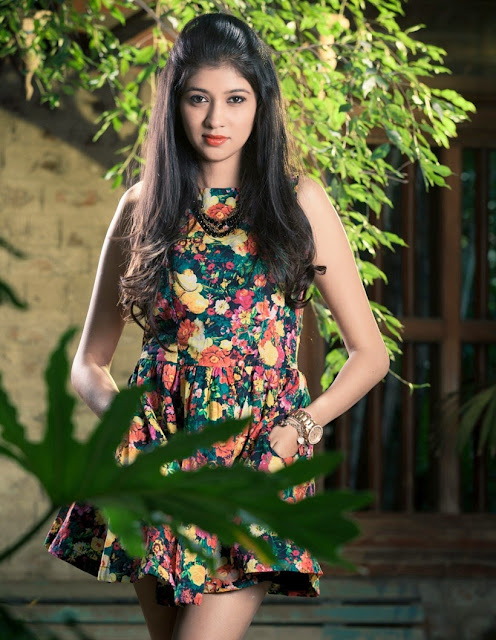 Actress Akhila Kishore Photoshoot Stills Navel Queens