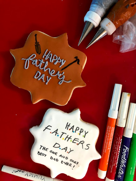 Easy cookie decorating ideas for Father's Day