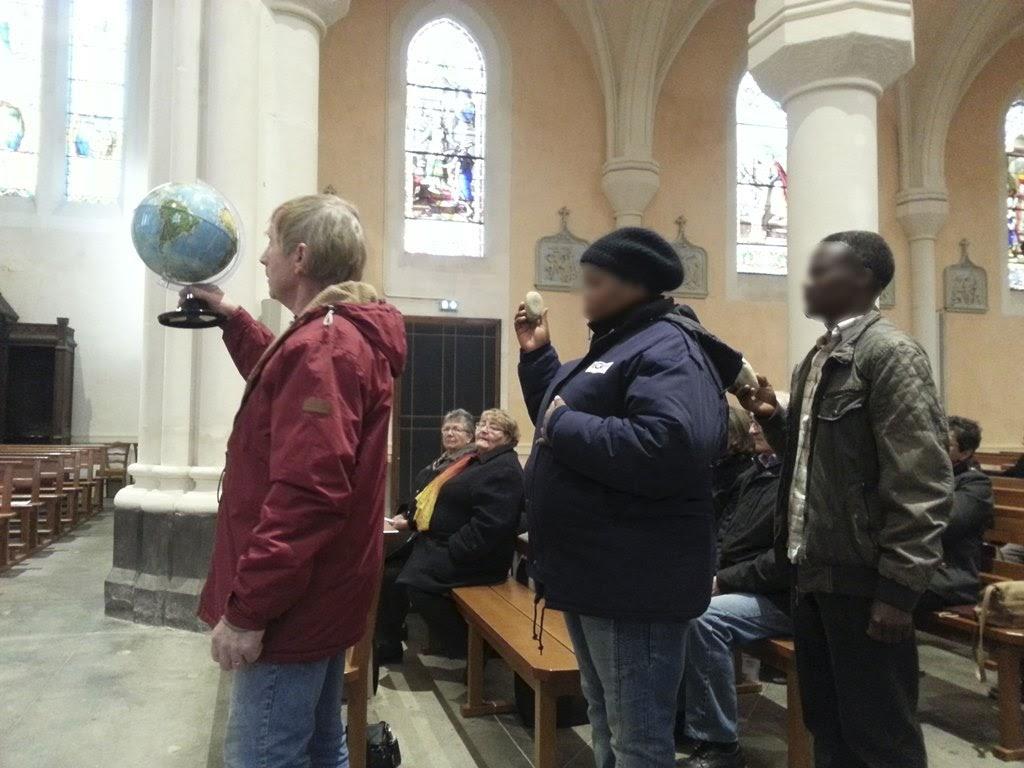 messe pour la journée mondiale du migrant et du réfugié