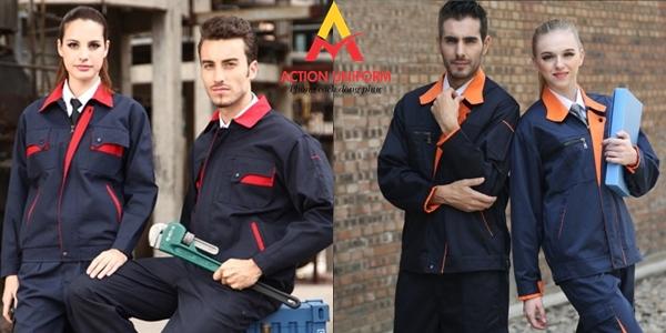 Mẫu đồng phục bảo hộ lao động 10