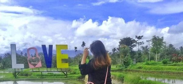 Gembok Cinta Obyek Wisata Selfie Baru di Gianyar