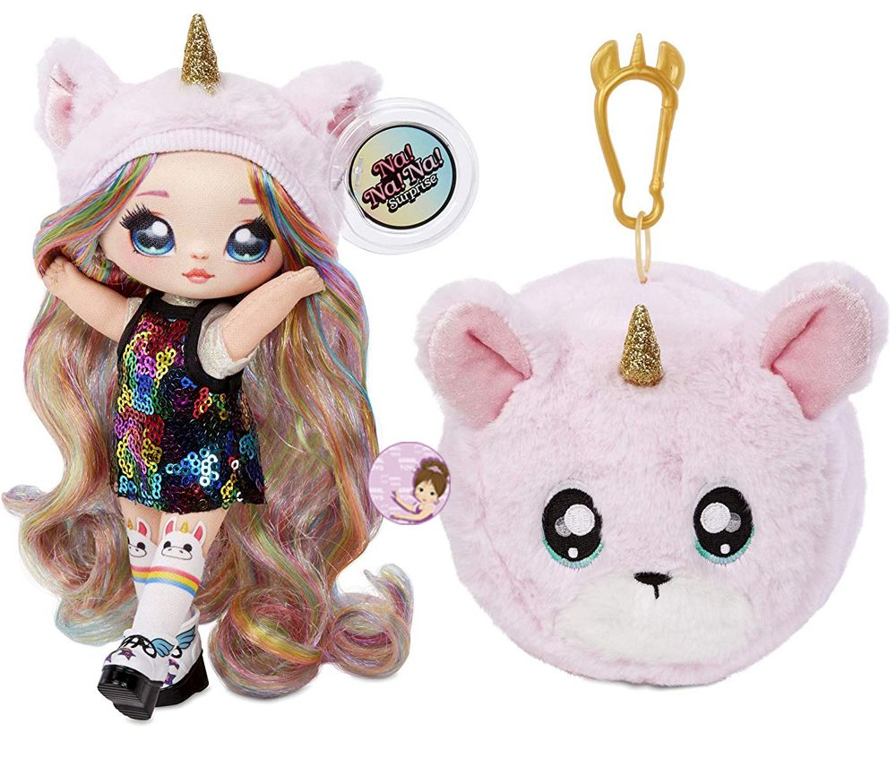 NA NA NA! Surprise 2-in-1 Fashion Doll & Plush Pom