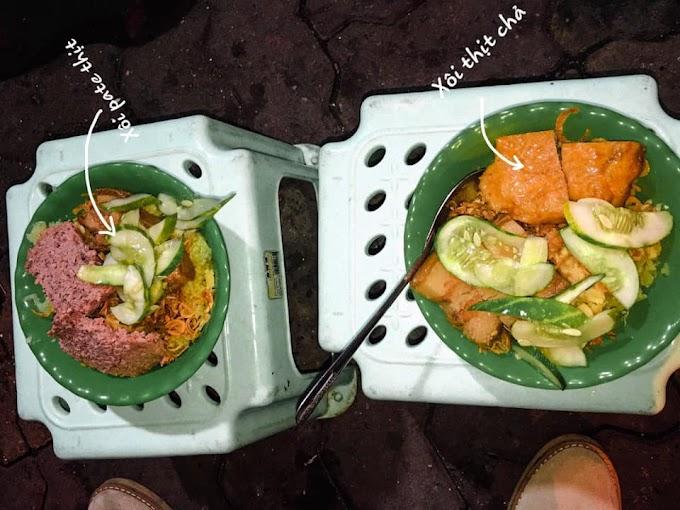 Xôi pate, xôi thịt - 420 Bạch Mai