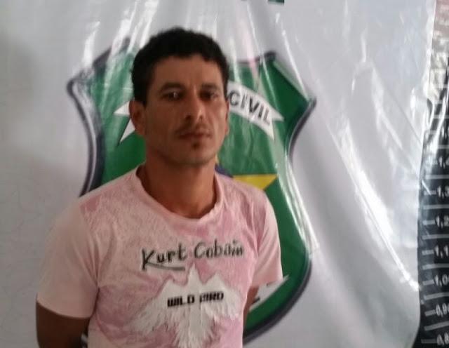 Polícia prende homem acusado de cometer roubos em Nossa Senhora da Glória