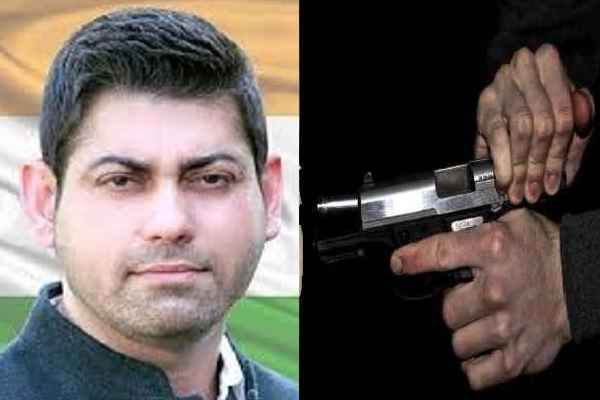 congress-leader-vikas-chaudhary-murder-in-faridabad-beaking-news