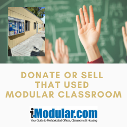 Help a School or Church in Florida by Donating Your Modular Classroom