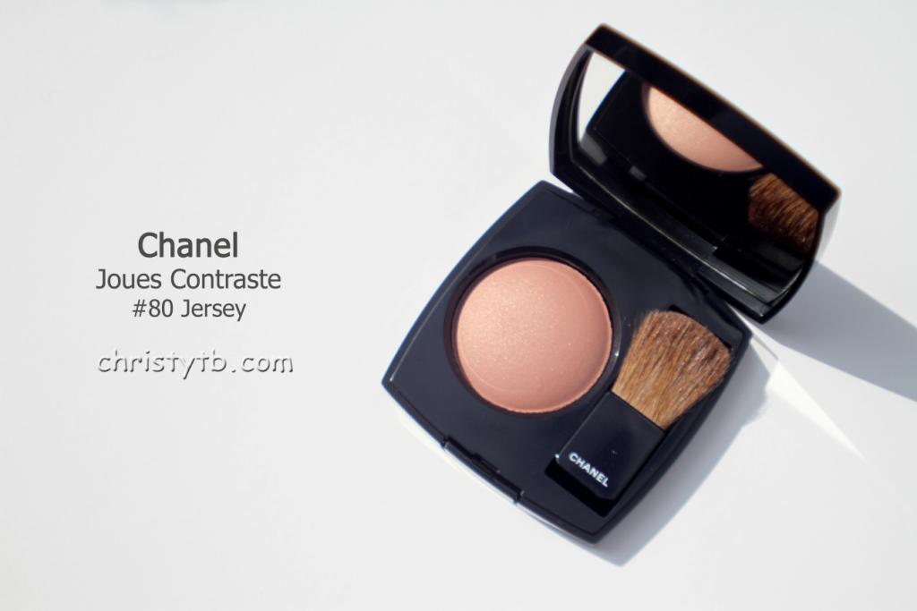 Новые румяна в палитре Chanel: Chanel Joues Contraste #80 Jersey