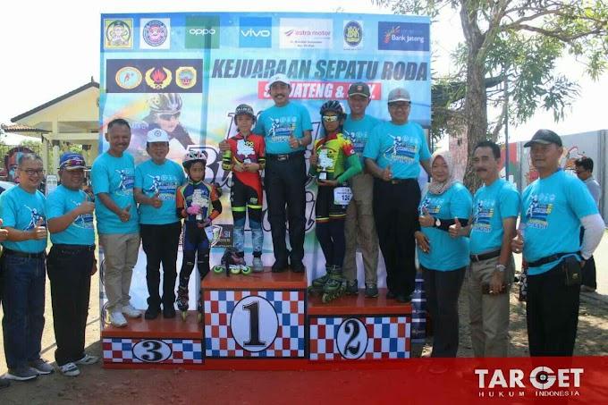 Ratusan Atlet Jateng DIY Ikuti Kejuaraan Sepatu Roda Piala Bupati Pati