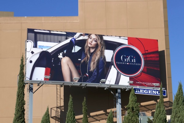 GiGi Tommy Hilfiger S18 billboard