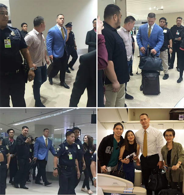 WWE Superstar John Cena Arrived In The Philippines! You Can See Him Here!