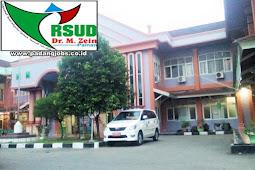 Lowongan Kerja RSUD Dr. Muhammad Zein Painan Januari 2019