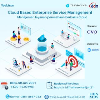 Webinar  Cloud Based Enterprise Service Management - 09 Juni 2021