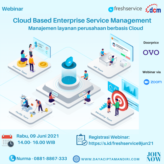 Webinar  Cloud Based Enterprise Service Management - 09 Juni 2021