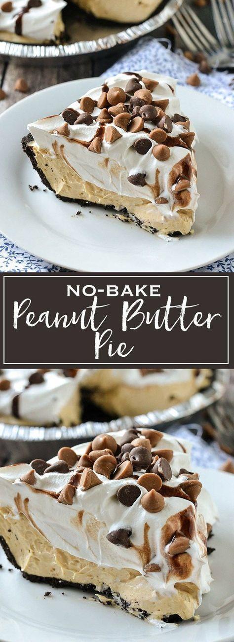 Nо-Bаkе Pеаnut Buttеr Pie