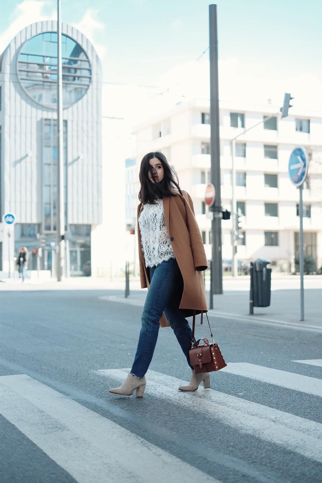 ameni daily, blog mode lyon, blog mode, amenidaily, blogueuse lyonnaise, comptoir des cotonniers, grace&mila, grace and mila, streetstyle, french blogger, blogueuse mode