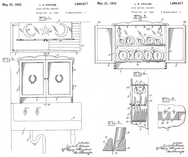 Dish Drying Cabinet patent