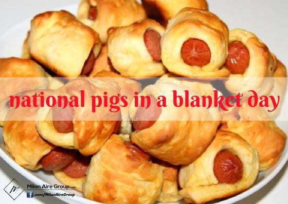 National Pigs in a Blanket Day Wishes Images download