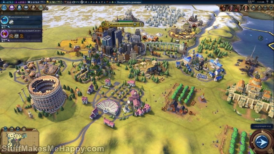 9. Sid Meier's Civilization (1991) and Civilization VI (2016)