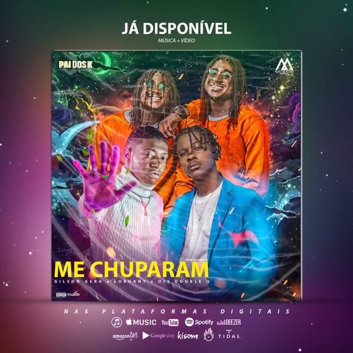 """Gilson Gera lança """"Me chuparam"""" com Lurhany e Djs Double Q"""