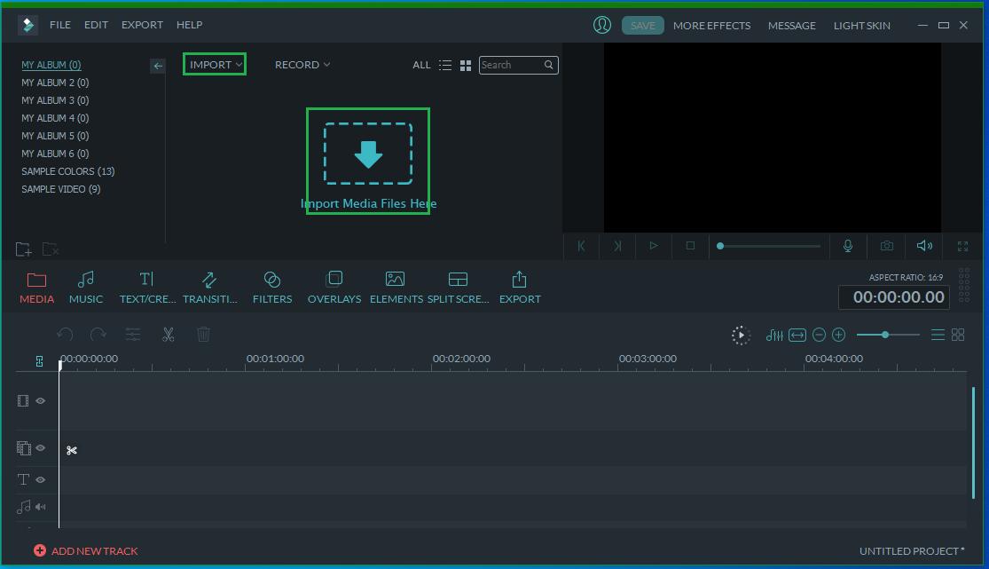how to export audio from audio using Filmora