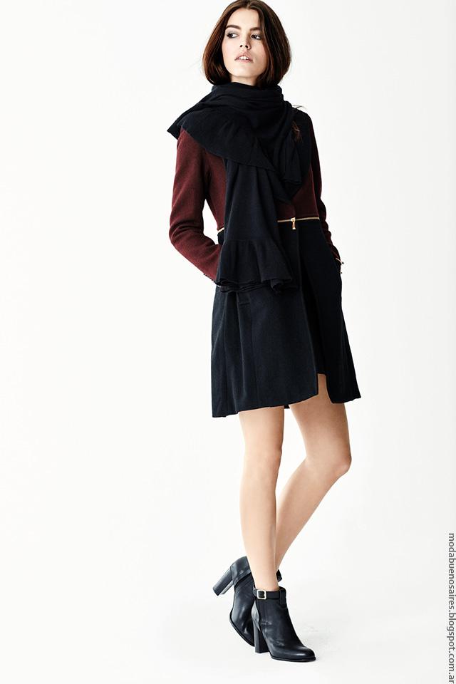 Tapados invierno 2016 ropa de moda mujer Naima.