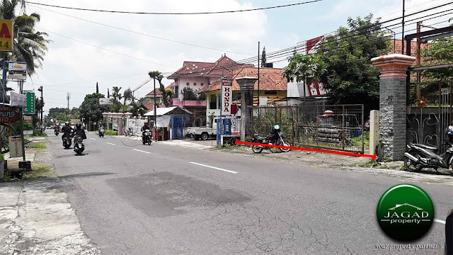 Tanah Strategis tepi jalan Kaliurang Km 16