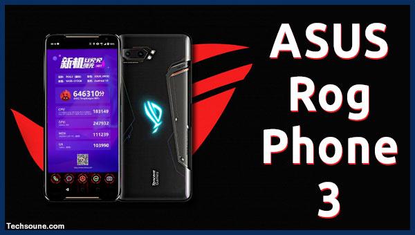 ASUS ROG Phone 3 أقوى هاتف على AnTuTu مع أخر المواصفات