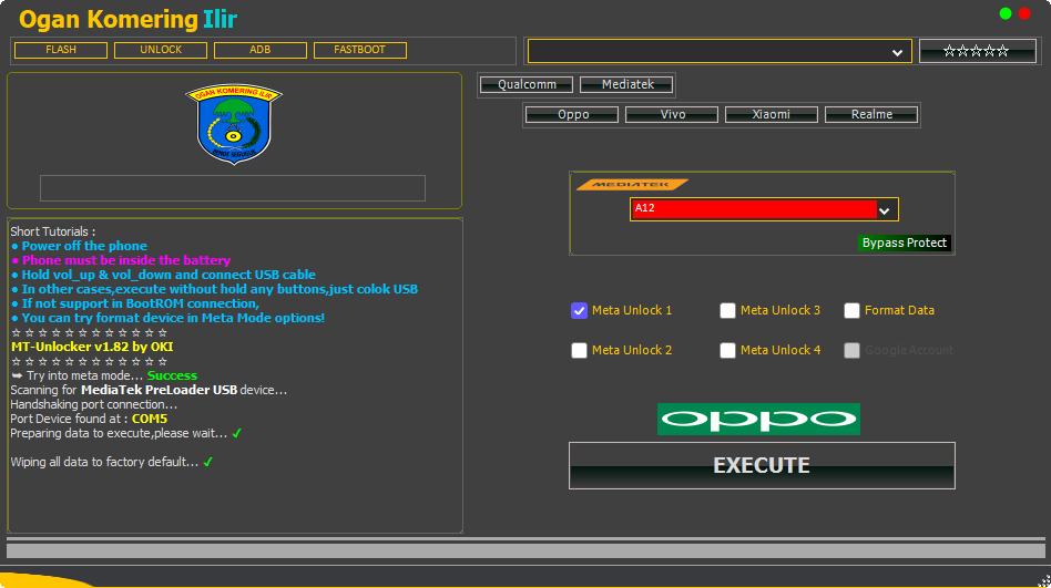 Qualcomm Samsung FRP Tool V1.0