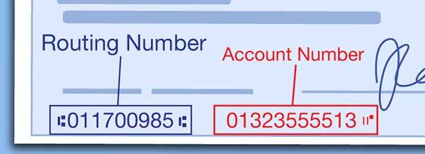7 Digit Routing Number Bank BNI