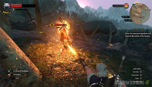 The Witcher - señal igni