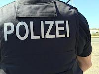 Избиение полицейского в Германии