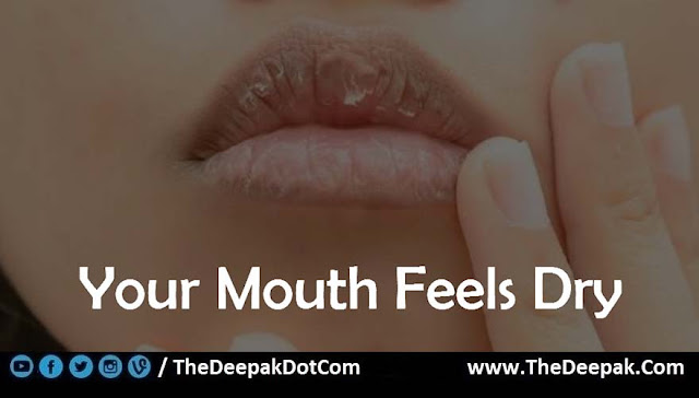 01 Mouth Feels Dry - Signs You are Not Drinking Enough Water