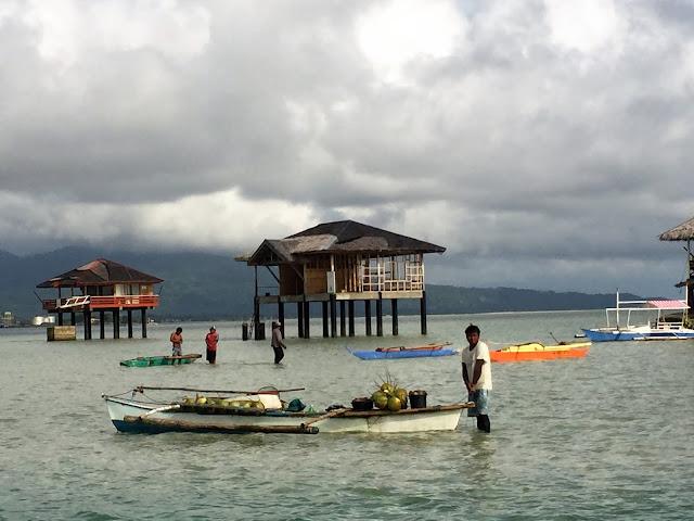 houses manjuyod sandbar bais philippines