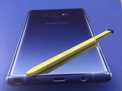 Galaxy Note9 and colorful new S Pen purportedly shown off in print ad leak