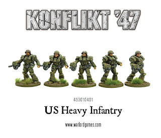 Konflikt 47 - US Heavy Infantry