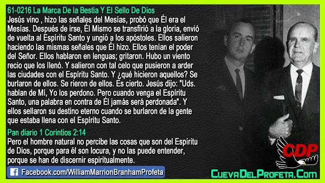 Esto jamás será perdonado - William Branham en Español
