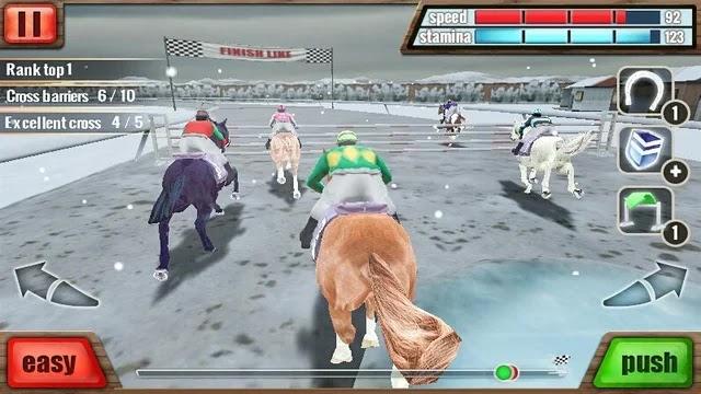 Horse Racing 3D   تحميل لعبة سباق الأحصنة Horse Racing 3D للأندرويد مجانا