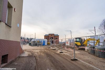 Stacja PKP Wałbrzych Główny od kilku miesięcy w trakcie kompleksowego remontu