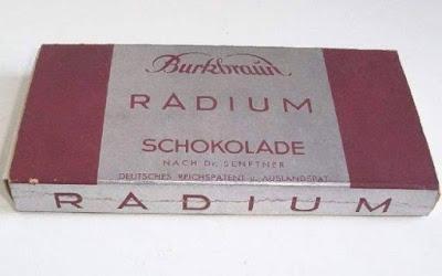 Radium Schokolade