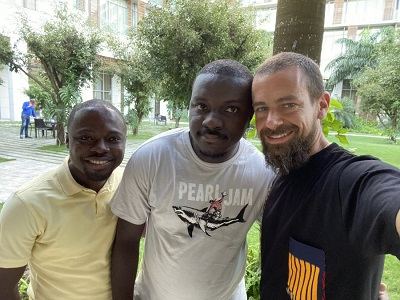 Twitter CEO Jack Dorsey attends Bitcoin event in Ghana