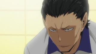 ハイキュー!! アニメ 2期12話   扇南高校 十和田良樹 Towada Yoshiki   HAIKYU!!  Ohgiminami high vs Karasuno