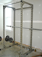 One way I prep the squat rack to help me with pull ups