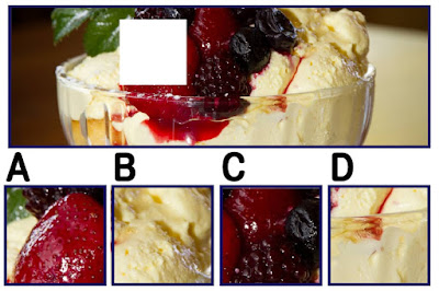 Figure: Doesn't this look berrylicious?! Choose the correct square.