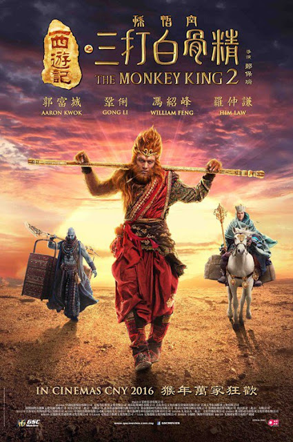 Download The Monkey King 2 (2016) HDRip Subtitle Indonesia