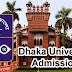 Dhaka University Admission Circular 2017-18